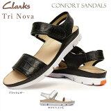 【あす楽】クラークス Clarks レディース サンダル トライノバ 833F コンフォート 素足 本革 Tri Nova