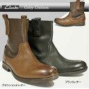 【あす楽】クラークス Clarks メンズブーツ エンジニア ゴービーチェルシー 021E レザー ビンテージ加工 カジュアルブーツ Goby Chelsea