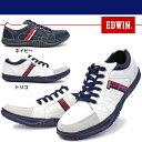 【あす楽】エドウィン EDWIN カジュアルシューズ EDM-345Y メンズ スニーカー ローカット ユーズド加工 ビンテージ加工