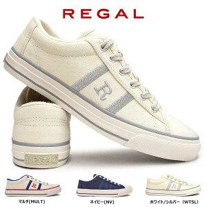 【あす楽】リーガル REGAL スニーカー レディース BE58 キャンバス Rマーク カジュアルシューズ バルカナイズ