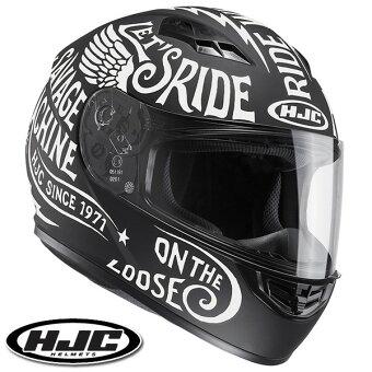 HJCCS-15レブルフルフェイスヘルメット【ホワイトM(57-58cm):HJH117REBEL】