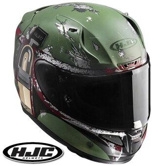 HJCSTARWARSRPHA11ボバフェットフルフェイスヘルメット【L(59-60cm):HJH119BOBAFETT】