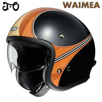 ショウエイJ.OWAIMEA【TC-10(BROWN/BLACK)Mサイズ】ワイメアジェットヘルメット
