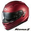 OGK KAMUI-2 カムイ2 フルフェイスヘルメット 【フラットレッド Lサイズ】