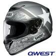 ショウエイ QWEST RESOLUTE (クエスト レゾリュート) フルフェイスヘルメット 【Mサイズ】