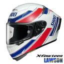 ショウエイ X-FOURTEEN LAWSON 【TC-1(RED/WHITE) Mサイズ】 X-14 ローソン レプリカ フルフェイスヘルメット