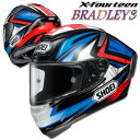 ショウエイ X-FOURTEEN BRADLEY3(ブラッドリー3) X-14 レプリカ フルフェイスヘルメット 【TC-1(RED/BLACK) Sサイズ】