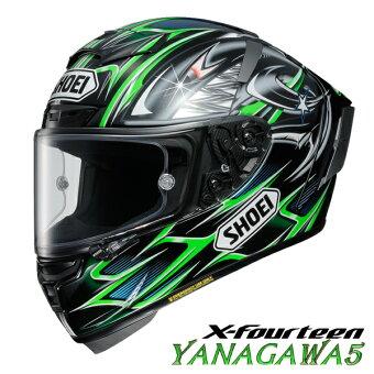 ショウエイX-FOURTEENYANAGAWA5(ヤナガワ5)【Mサイズ】X-14フルフェイスヘルメット