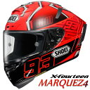 ショウエイ X-FOURTEEN MARQUEZ4 X-14 マルケス4 レプリカ フルフェイスヘルメット 【TC-1(RED/BLACK) Lサイズ】