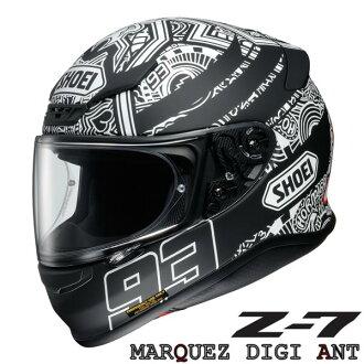 ショウエイZ-7MARQUEZDIGIANT(マルケスデジアント)フルフェイスヘルメット【XL(61cm)サイズ】マルク・マルケス選手レプリカ