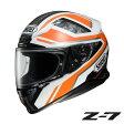 ショウエイ Z-7 PARAMETER (パラメーター) 【TC-8(ORANGE/WHITE) Mサイズ】 フルフェイスヘルメット