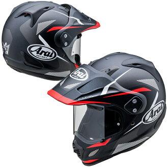 アライ×山城TOURCROSS3BREAK【レッドMサイズ】TX3ツアークロス3ブレイクオフロードヘルメット