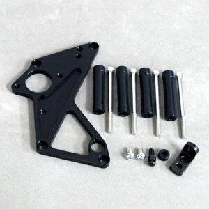 コワースドライブスプロケットガード(スプロケットカバー)GSX400インパルス/S、GSX400Sカタナブラックバージョン0-6-GS03BK