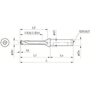 SF12DRC080M5京セラ ドリル用ホルダ3577091【smtb-s】