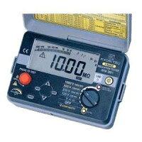 共立電気計器キューメグデジタル式4レンジ絶縁抵抗計3022