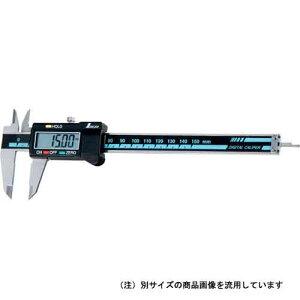 シンワ測定 デジタルノギス 大文字 200mm ホールド機...
