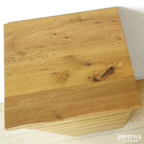 幅40cm節ありのナラ材使用ナラ無垢材天然木シンプルモダンデザインサイドチェストサイドボードFAV台引き出し収納引出しストッパー付きVILLAGE-CH40ネットショップ限定オリジナル設定