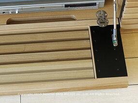 【開梱設置配送】【JOYSTYLE限定モデル】幅182cmタモ材タモ無垢材タモ天然木木製シンプルモダンデザインローボード格子扉格子デザインのテレビボードGrid+182.Natural引き出し付きナチュラル色