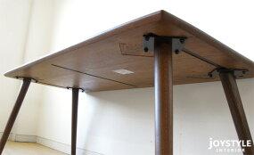 幅180cmダークブラウン色に塗装したナラ材使用ナラ無垢材ナラ天然木角に丸みのあるテーパー脚のダイニングテーブルVENTI-DT180DB(※チェア別売)ネットショップ限定オリジナル設定