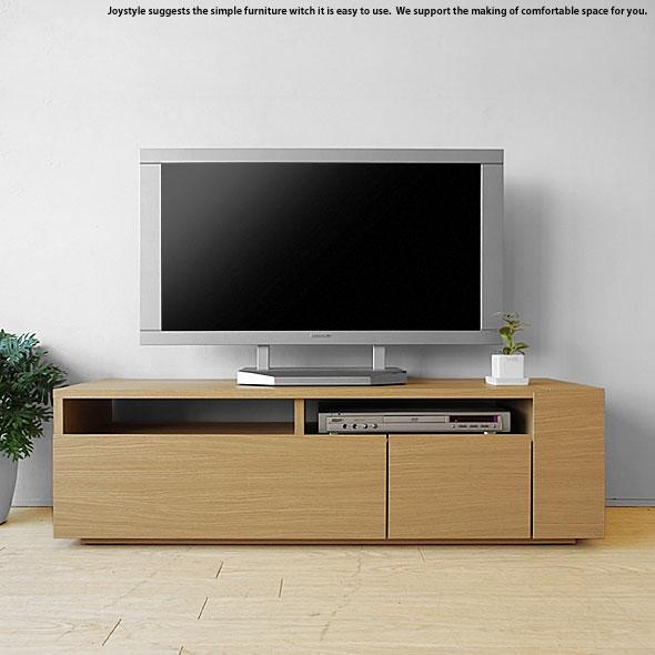 ※現在欠品中、次回入荷予定は2月上旬頃です。テレビ台 幅120cm ナチュラル色 和モダンテイスト ナチュラルテイスト 収納力があるシンプルモダンデザインのロータイプのテレビボード