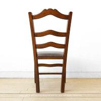 ブナ材ブナ無垢材アンティークの雰囲気漂う家具をイメージした個性的なチェアブナ天然木木製椅子ヴィンテージ風ダイニングチェア曲線を多く取り入れた柔らかい印象のデザインが特徴TRACE-DC