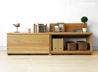 ナラ材ナラ無垢材リビングの整理整頓や玄関の靴箱、ベンチチェアなど様々な使い方ができる収納ベンチHOME-OP組み合わせでテレビ台にもなります