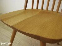 【受注生産商品】ナラ材ナラ無垢材ナラ天然木木座木製椅子ナチュラルテイストウィンザーチェアダイニングチェアCAMPUS-CH-NA