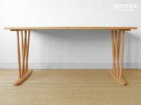 幅140cm幅160cm幅180cmの3サイズメープル材メープル無垢材メープル天然木丸みのあるデザインのダイニングテーブルCARINO-TABLE-LA(※チェア別売)ネットショップ限定オリジナル設定※サイズによって金額が変わります!