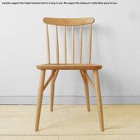 メープル材メープル無垢材メープル天然木木製椅子重さ4kgの軽量チェアナチュラルな色合いのダイニングチェアウインザーチェアRITTER-CHAIRネットショップ限定オリジナル設定