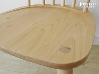 メープル材メープル無垢材メープル天然木木製椅子重さ4kgの軽量チェアナチュラルな色合いのダイニングチェアウインザーチェアRITTER-CHAIR