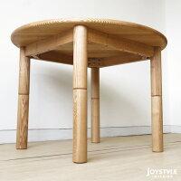 直径100cmタモ材無垢材天然木円座卓丸テーブル円テーブルダイニングテーブルリビングテーブルMOBILE(※チェア別売)ネットショップ限定オリジナル設定