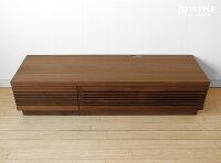 【カスタムオーダー・別注対応】幅160cmウォールナット材ウォールナット無垢材天然木木製テレビ台格子扉のテレビボードローボードアジアンテイストGALLOP-160WN※素材によって金額が変わります!