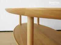 幅120cmタモ材タモ無垢材タモ天然木ナチュラルテイスト木製ローテーブル楕円形のリビングテーブル丸テーブルWORLDネットショップ限定オリジナル設定