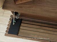 開梱設置配送JOYSTYLE限定モデル幅160cmウォールナット材ウォールナット無垢材ウォールナット天然木木製テレビ台シンプルモダンデザインローボード格子扉格子デザインのテレビボードGRID+160WN引き出し付き