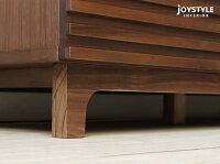 【JOYSTYLE限定モデル】幅150cm幅170cmの2サイズウォールナット材ウォールナット無垢材の格子扉木製テレビ台モダンリビングに合うかっこいいテレビボードローボードNEED-TV170