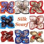 【シルクスカーフ大判】シルク100%85×85シルクスカーフストール絹シフォンレディース