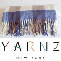 【YARNZ】13HOLIDAYの新作ヤーンツ厚手のウール・カシミアストール