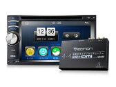 送料無料!!フルセグ内蔵DVDプレーヤー 2DIN バック連動 Bluetooth 地デジチューナー4×4 フルセグ 高音質 高画質(C0332J) EONON【一年保証】【あす楽対応】