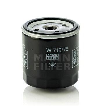 MANN オイルフィルター オペル (ヴィータ) W 712/75 (オイルエレメント・適合検索あり) 【RCP】【M】