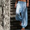 ヨガパンツ レディース ビーチパンツ ロングパンツ ワイドパンツ ルームウエアリゾートパンツ ビーチウエア リゾートウエア タッセルパンツカバーアップ 水着の上に着る 海 リゾート サマーウエア サマードレス