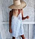 ワンピース ミニワンピース ラップワンピース リネンワンピース キャミソールワンピースビーチワンピース ビーチドレス リゾートワンピース リゾートドレスカバーアップ 水着の上に着る 海 リゾート サマーウエア サマードレス