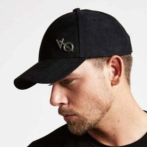 VANQUISH FITNESS ヴァンキッシュフィットネスキャップ 黒 ブラック 帽子 メンズ ハット レディーススエードキャップ 無地キャップ 男女兼用キャップ ユニセックス日よけ カジュアルキャップ おしゃれキャップメタルVQ スエードベースボールキャップ