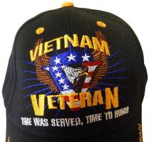 USネイビーベトナムベテランメンズブラックBCAHバンパーステッカーキャップ新品米国輸入取寄せ品個別送料あり通常納期2週間~