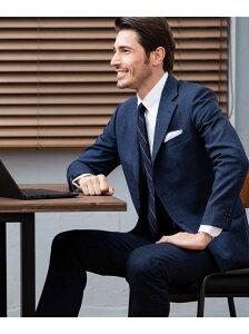 【CUBA BEACH MASTERPIECE】シルクツイストチェック スーツ J.PRESS ジェイプレス ビジネス/フォーマル セットアップスーツ ネイビー グレー【送料無料】[Rakuten Fashion]