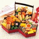 商品画像:京料理 矢尾卯の人気おせち楽天、京菜味のむら 八坂三段重32品 おせち 送料込 ※前払い不可