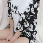 夏シャツ/シャツ/ブラウス/レディースシャツ/ざっくり/フェミニン/ゆったり/長袖/前後差/トップス/体型カバー/半袖シャツ/大人可愛い/おしゃれ