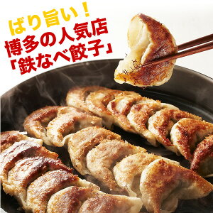 陳建一さんが日本の餃子ベスト5に選びました博多中洲鉄なべ 餃子(20個×2箱)【本格鉄なべ付...