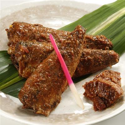 魚屋だからできる旦過市場の老舗 吉勝特製小倉名物ぬか味噌炊き(5袋セット)