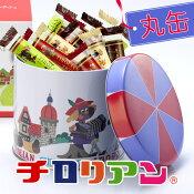 千鳥饅頭総本舗チロリアン(丸缶)
