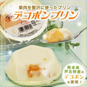 熊本の果物をつかったスイーツ♪JAあしきた デコポンプリン(6個入)【熊本名物デコポン使用】